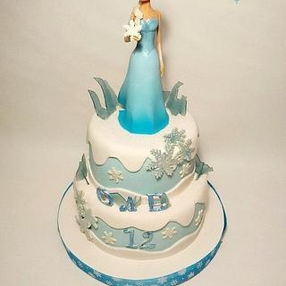 Frozen Elsa  (hand modelling)