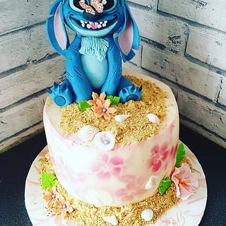Disney Stitch Cake