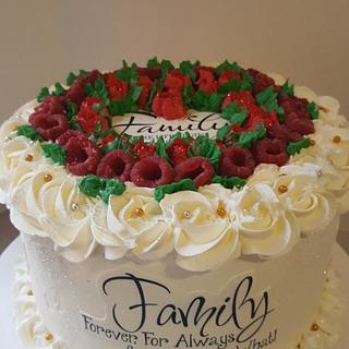 family dinner cake