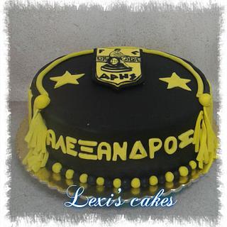 ARIS τουρτα - Cake by alexialakki