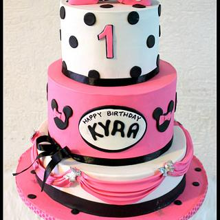 minnie mouse! - Cake by Maaria
