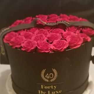 Forever Rose Box Birthday - Cake by Jacqulin