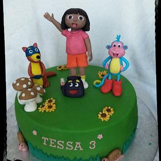 My Dora cake