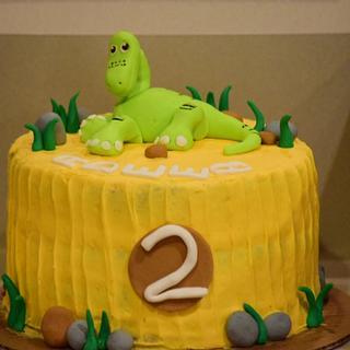 Arlo... The good dinosaur movie - Cake by Harjeet kaur