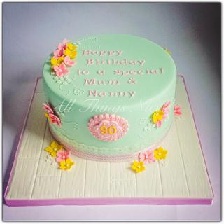 90th Birthday ! - Cake by All things nice