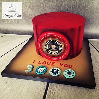 x I love You 3000 Cake x - Cake by Sugar Chic