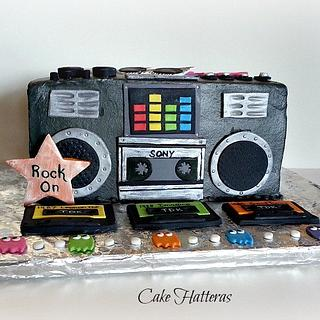 80's Boom Box for 25th Class Reunion