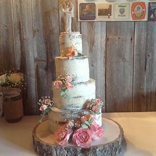 Vintage Naked Cake - Cake by Silvia - SweetCakes