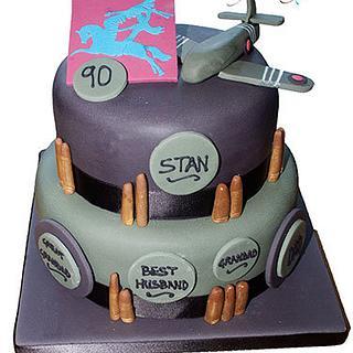 WW11 Birthday Cake