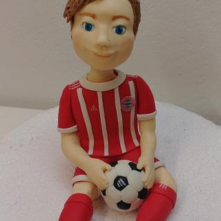 My little  FC Bavarian Munich Soccer Boy