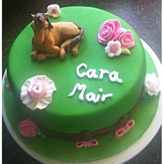 Horse Cake - Cake by Cara