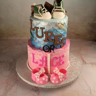 Lures or Lace - Cake by Jan Dunlevy