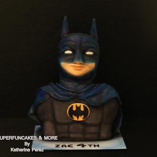 BATMAN BUST  CAKE