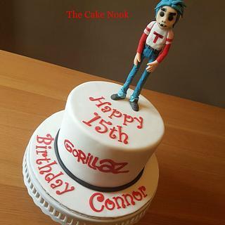 Gorillaz Cake
