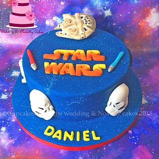 Star wars theme cake - Cake by Cupcakes la louche wedding & novelty cakes
