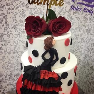 Flamenca Cake