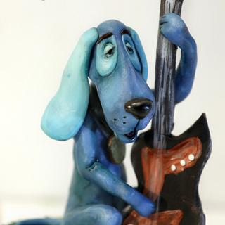 "Sugar sculpture ""The Town Musicians Of Bremen"""