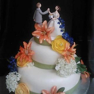 Flowers - Cake by Jaime VanderWoude