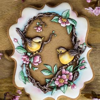 Spring Love Cookie