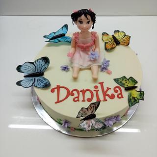Butterflies - Cake by sheilavk