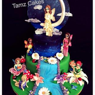 Magical Fairy Cake - Cake by Tammy