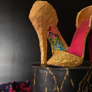 Caker Buddies Collab-Glamour - Disney meets couture
