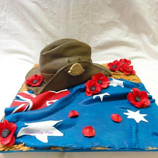 Remembering our Anzacs, Anzac slouch hat.