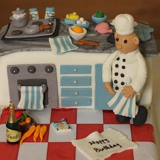 Kitchen cake - Cake by Smita Maitra (New Delhi Cake Company)