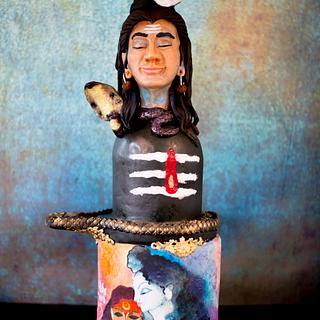 Lord Shiva - Cake by bakemesomething