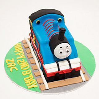Thomas Tank Engine Cake - Cake by Paula R