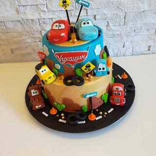 Disny Cars - Cake by Milena Nikolic