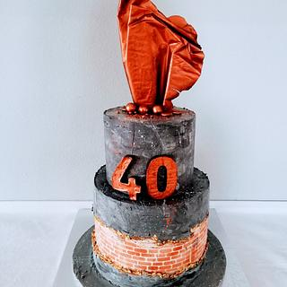 Industrial cake