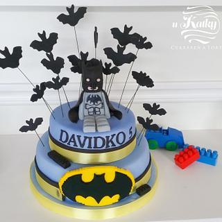 Detská torta lego batman