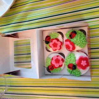 miscellaneous lady bug cupcakes - Cake by Loracakes