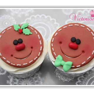 Christmas Cupcakes part 6 - Cake by Victorious Cupcakes