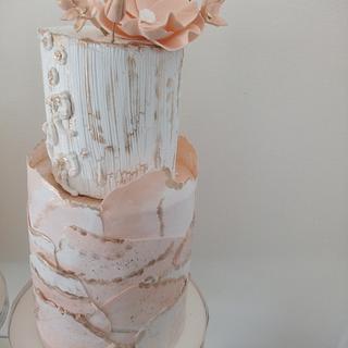 Texturas, crackelado y efecto marmol.