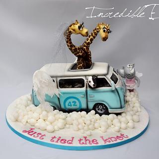 Magical Campervan Cake