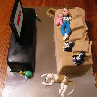 Just Laying Around Cake