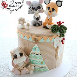 Baby Boho - Cake by My Sweet Dream Cakes