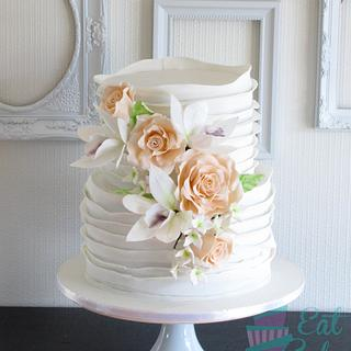 Ruffles and Roses - Cake by Eat Cake