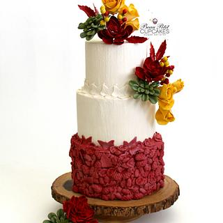 Autumn Sangria - Cake by Beau Petit Cupcakes (Candace Chand)