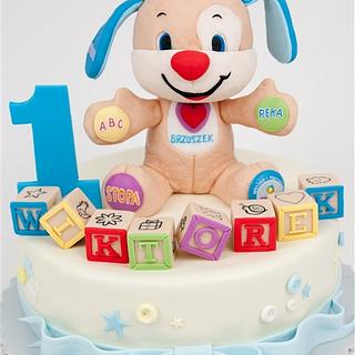 Fisher Price toy cake