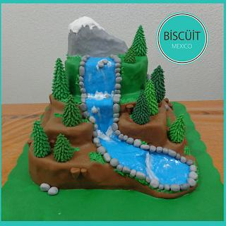 Mountains - Cake by BISCÜIT Mexico