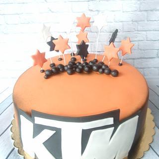 Cake for biker