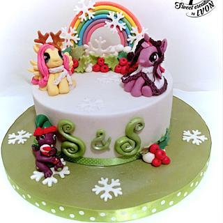 MLP&Bart - Cake by Ivon