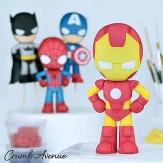 Iron Man Cake Topper