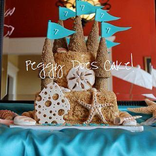 Ry's Sand Castle Cake