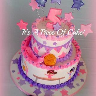 Gymnastics Cake
