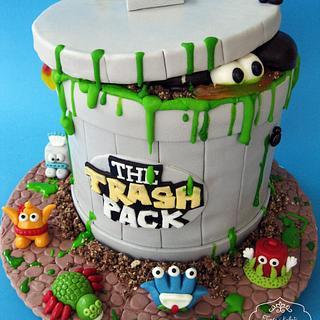 The Trash Pack - Cake by Zasladi se Cake Design