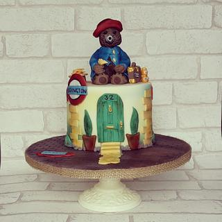 Paddington Bear Cake